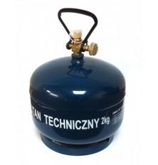 Balionas dujoms 4,8l/2kg(tara daugkartinio naudojimo)