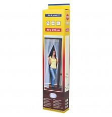 Tinklelis durims nuo uodų 90cmx210cm baltas(3 dalių)