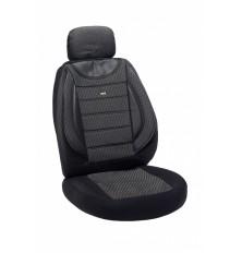 Sėdynių užvalkalai universalūs 5 vietų komplektas AVANGARD juodi+pilki