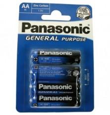 Baterija Panasonic AA 4vnt
