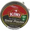 Batų tepalas, polirolis 50ml KIWI tamsiai rudas