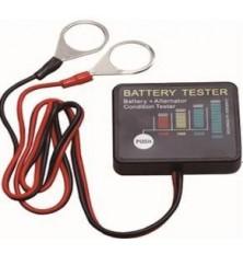 Testeris 12V akumuliatoriui LED skaitm.
