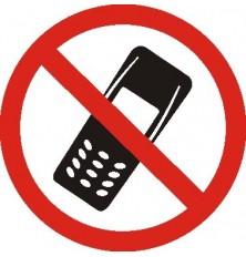Lipdukas Kalbėtis telefonu draudžiama