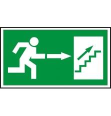 Lipdukas Laiptai aukštyn į dešinę
