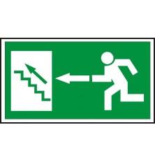 Lipdukas Laiptai aukštyn į kairę