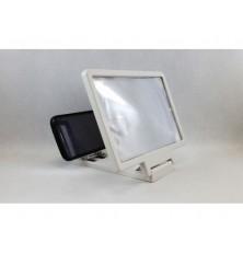 Ekranas didinamojo stiklo telefonui 185x125mm