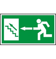 Plast.lentelė Laiptai aukštyn į kairę