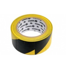 Lipni juosta juoda/geltona 33mx48mm