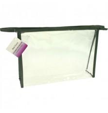 Krepšys kosmetinis skaidrus XL 27x19x6.7cm