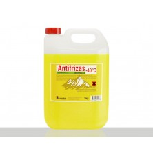 Aušinimo skystis (antifrizas -40 C) geltonas 5kg