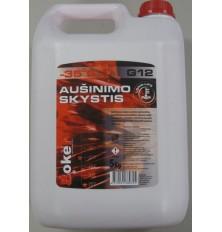 Aušinimo skystisG12(antifrizas-35C)raudonas 5kg